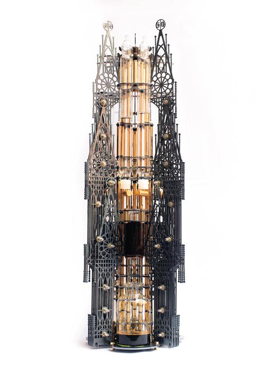 Arte e Arquitetura: cafeteiras futuristas ou arranha-céus fictícios?, Gothicism. Image Courtesy of Dutch Lab