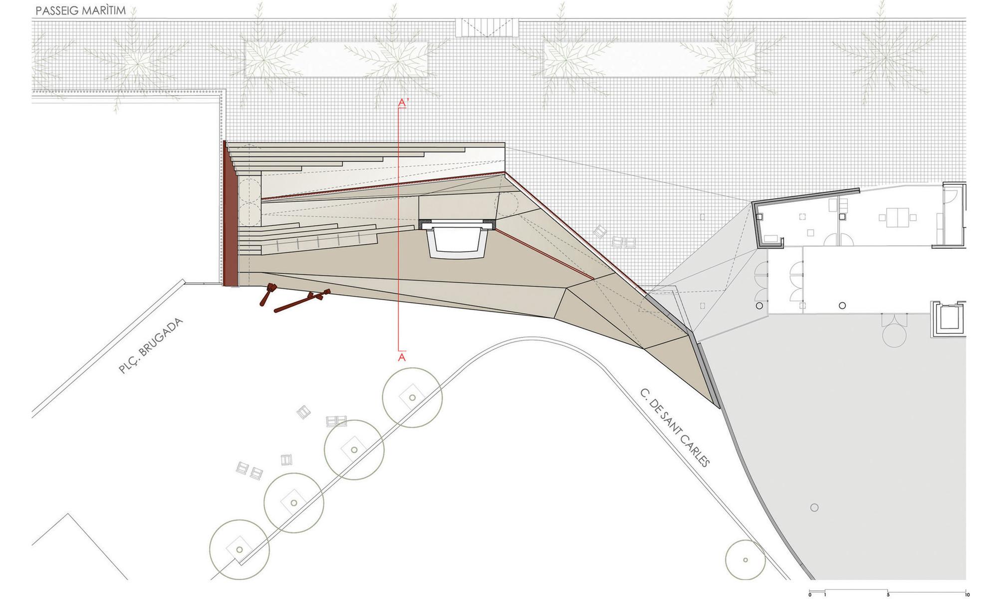 Paisaje y Arquitectura: Recuperación Fuente Carmen Amaya por Lola Domènech
