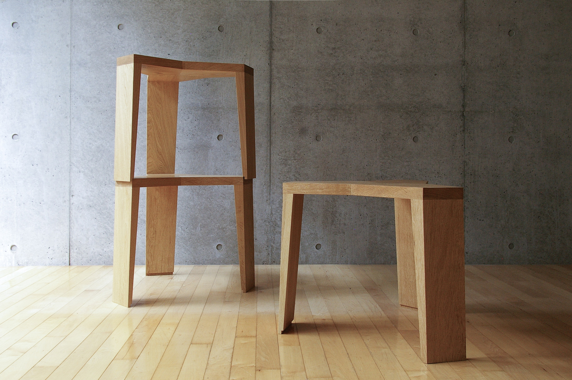 Taburetes YATA / Naoki Hirakoso, Courtesy of Naoki Hirakoso