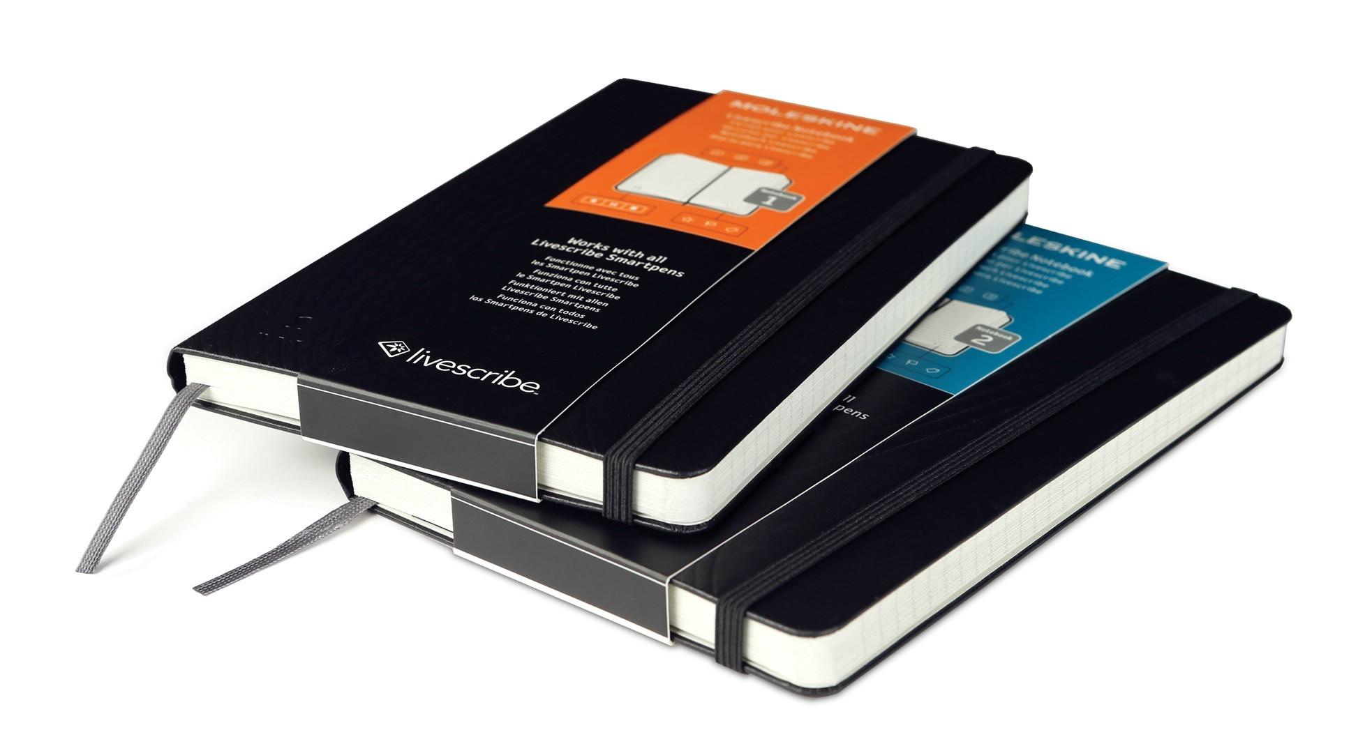Moleskine Livescribe Notebooks: Analog and Digital ...