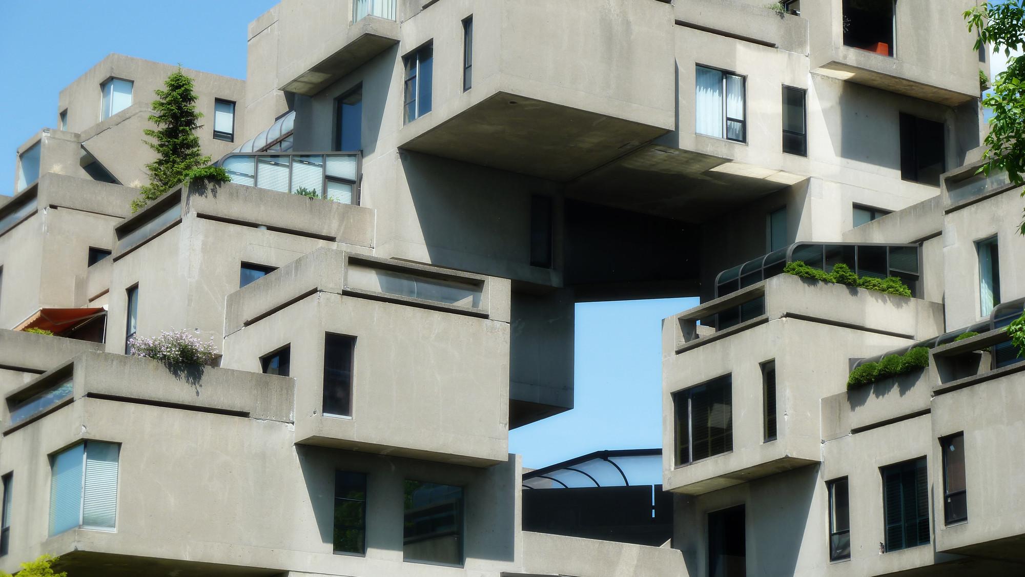 Cl sicos de arquitectura h bitat 67 moshe safdie Arquitectura brutalista