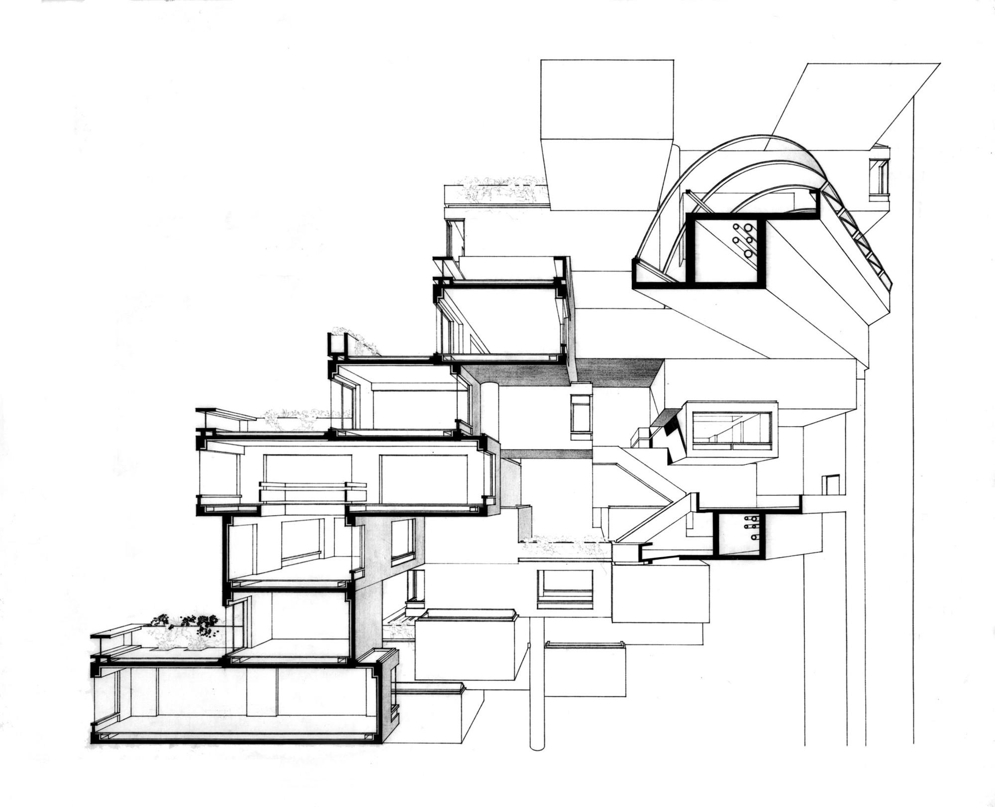 Cl sicos de arquitectura h bitat 67 moshe safdie plataforma arquitectura for Interior design services plano