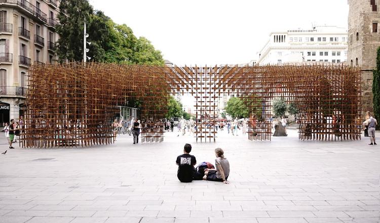 BCN Re.Set - Identity Pavilion /  Urbanus + La Salle, © Runze Hu