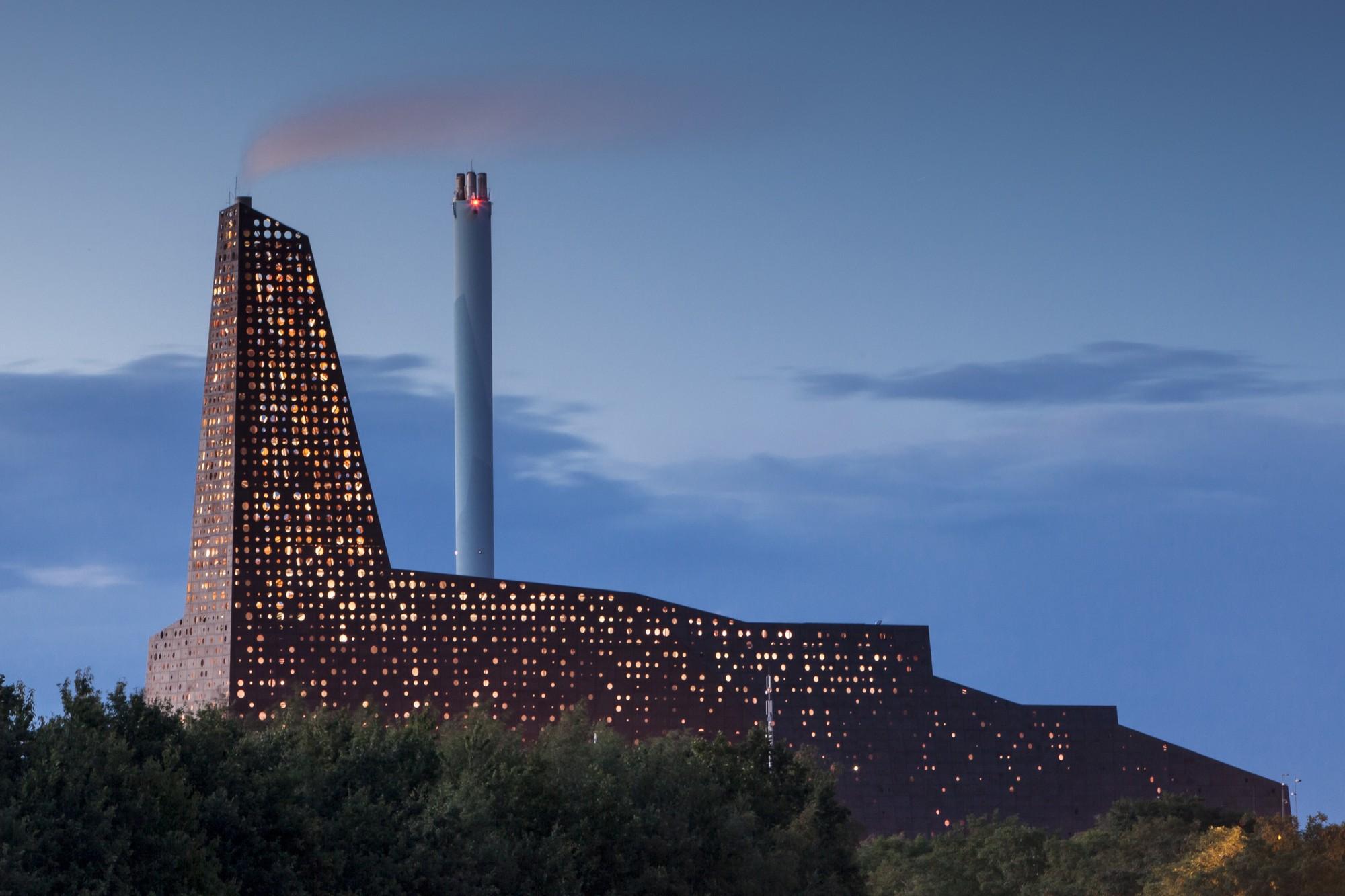 Incineration Line in Roskilde / Erick van Egeraat, © Tim Van de Velde