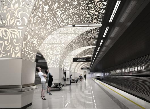 Design for Novoperedelkino by U-R-A | United Riga Architects. Image © Evgeni Leonov
