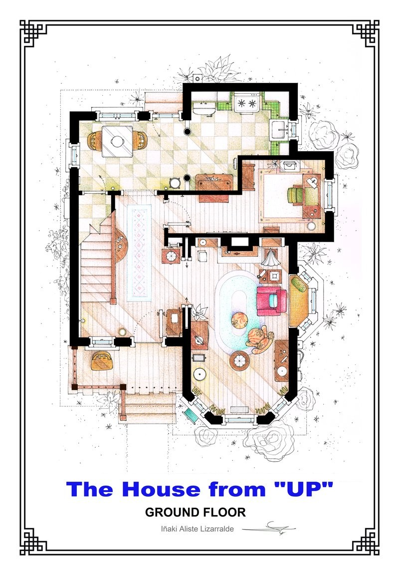 Inside House Drawing: Gallery Of From Friends To Frasier: 13 Famous TV Shows