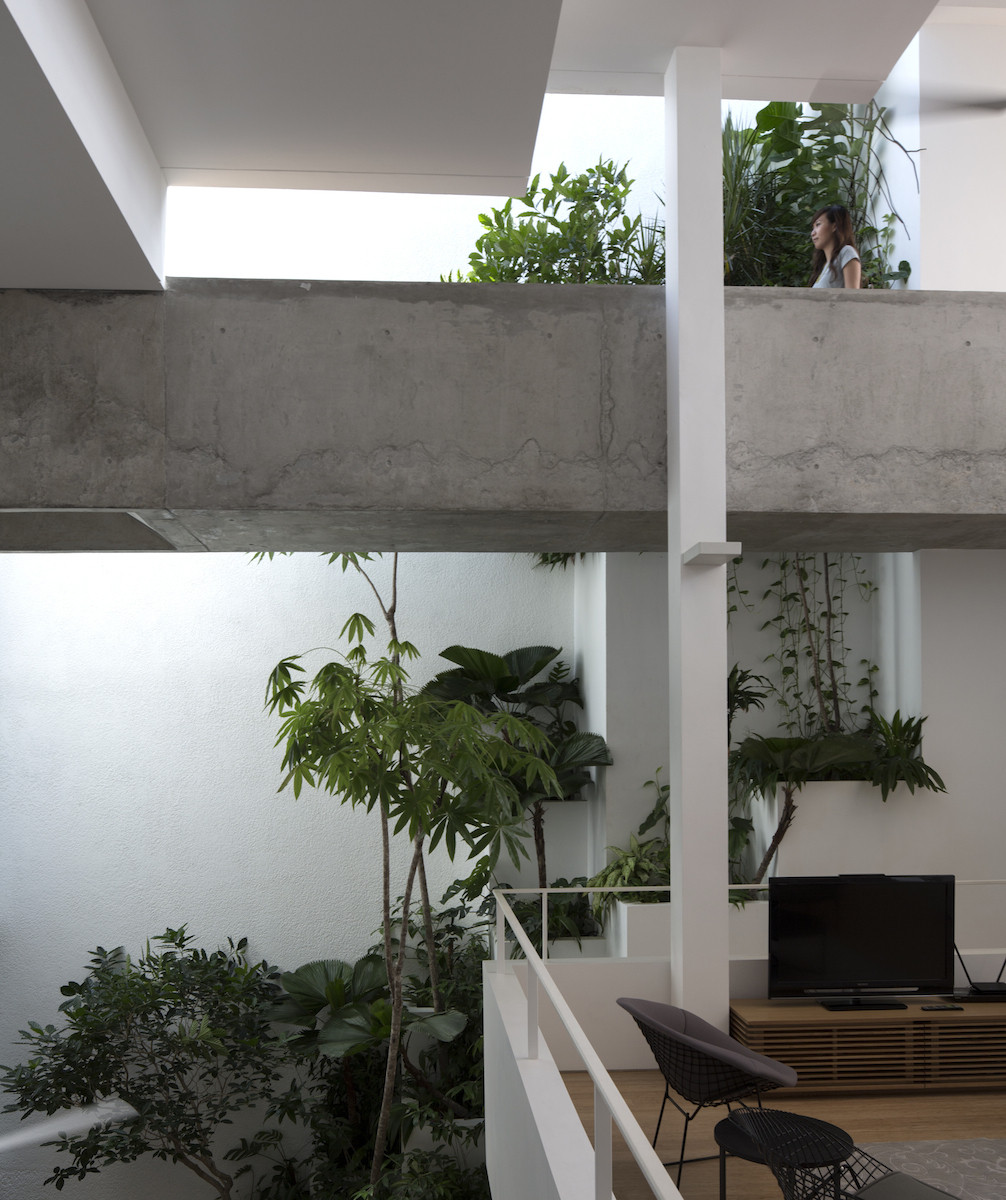 Gallery of terrace house formwerkz architects 3 for Terrace of house