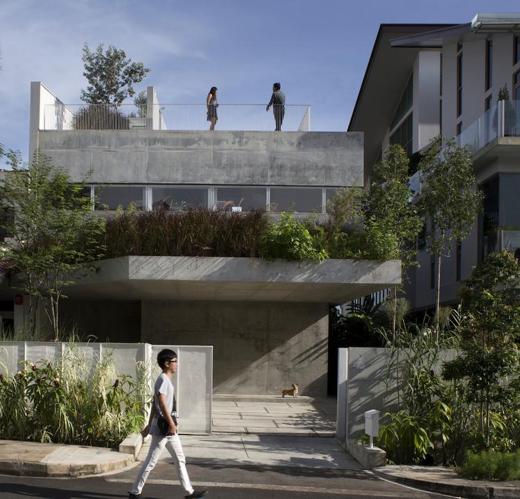 Casa con Terraza / Formwerkz Architects, © Albert Lim