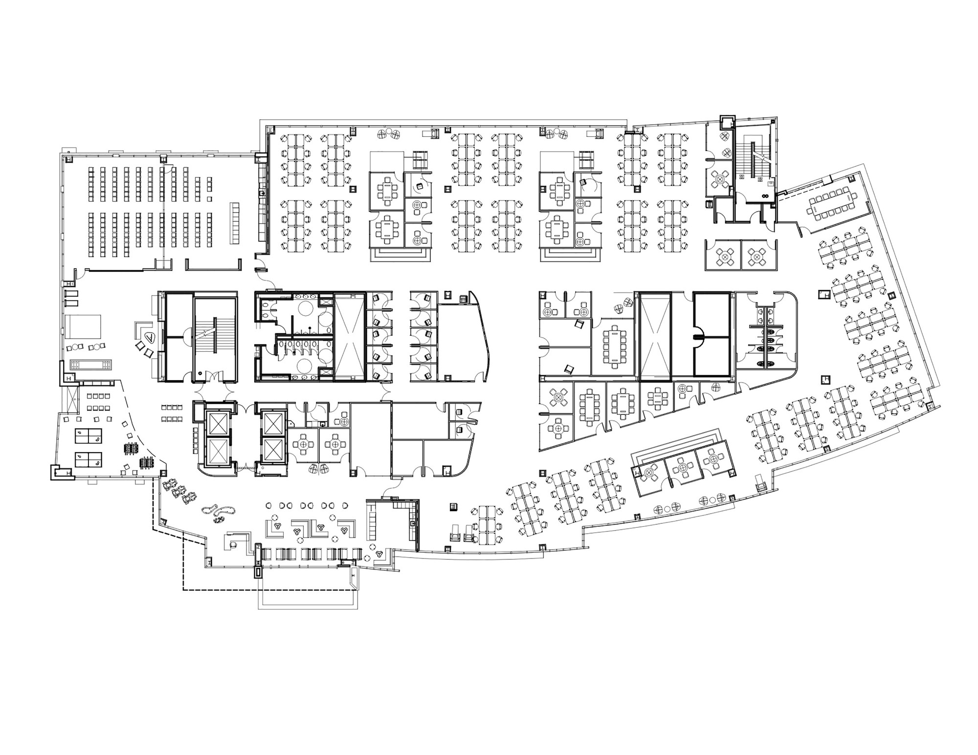 Gallery of godaddy silicon valley office des architects for Draw office floor plan