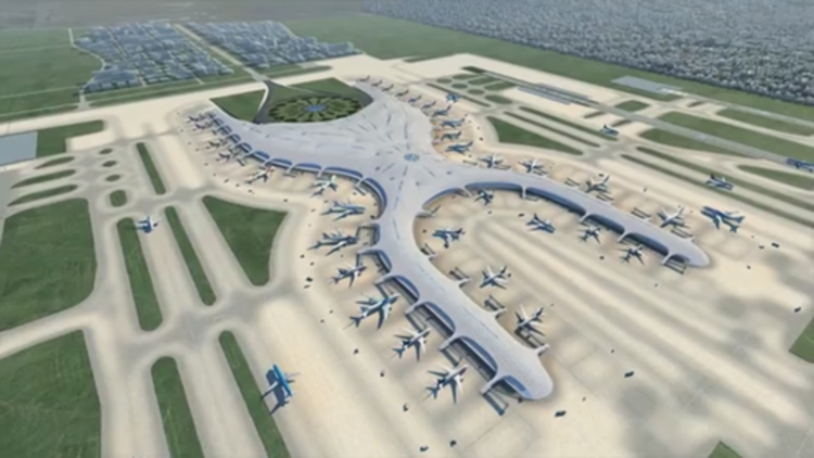 New Details Released of Norman Foster and Fernando Romero's Designs for Mexico City's New Airport, Image Captured from video via Foster + Partners