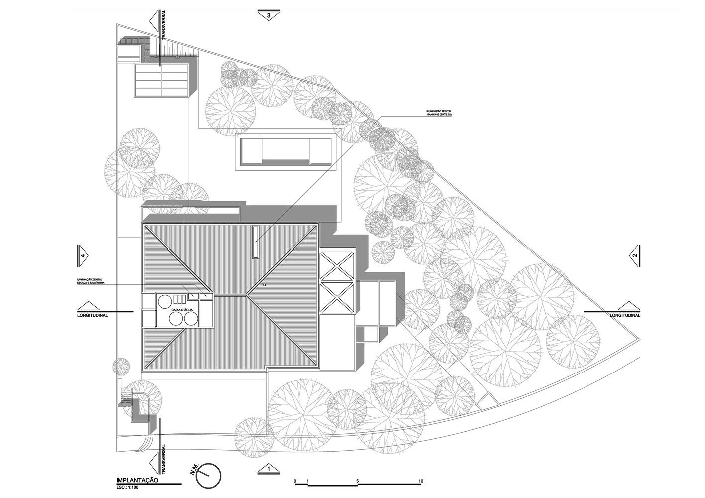 Morumbi Residence,Floor Plan