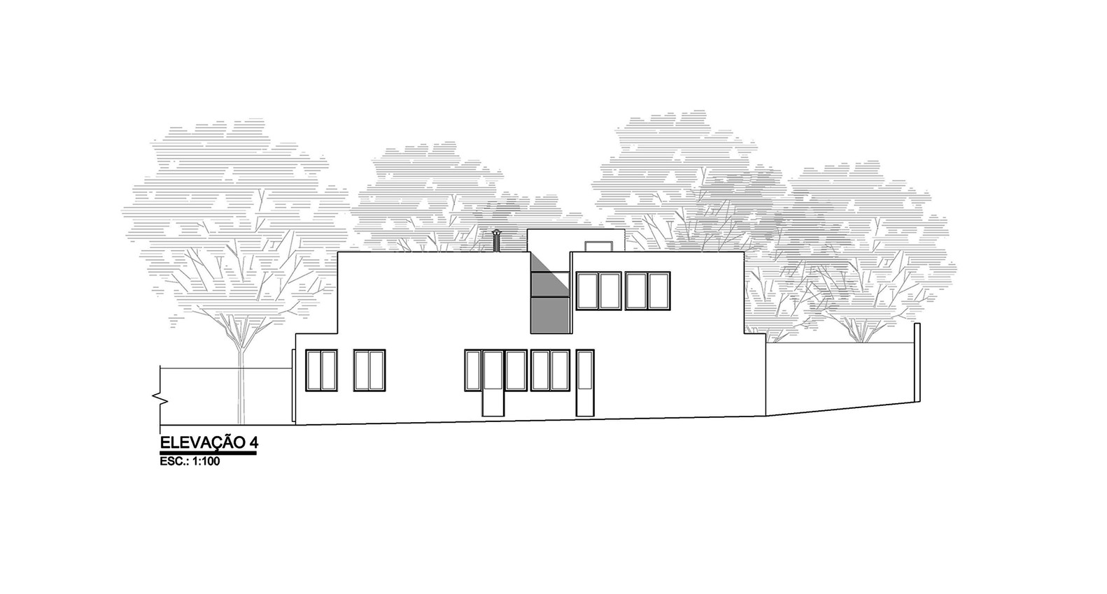 Morumbi Residence,Elevation