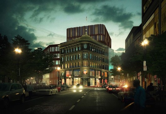 Bolling Municipal Center - Roxbury, Boston (MA). Image Courtesy of Mecanoo / Sasaki Associates