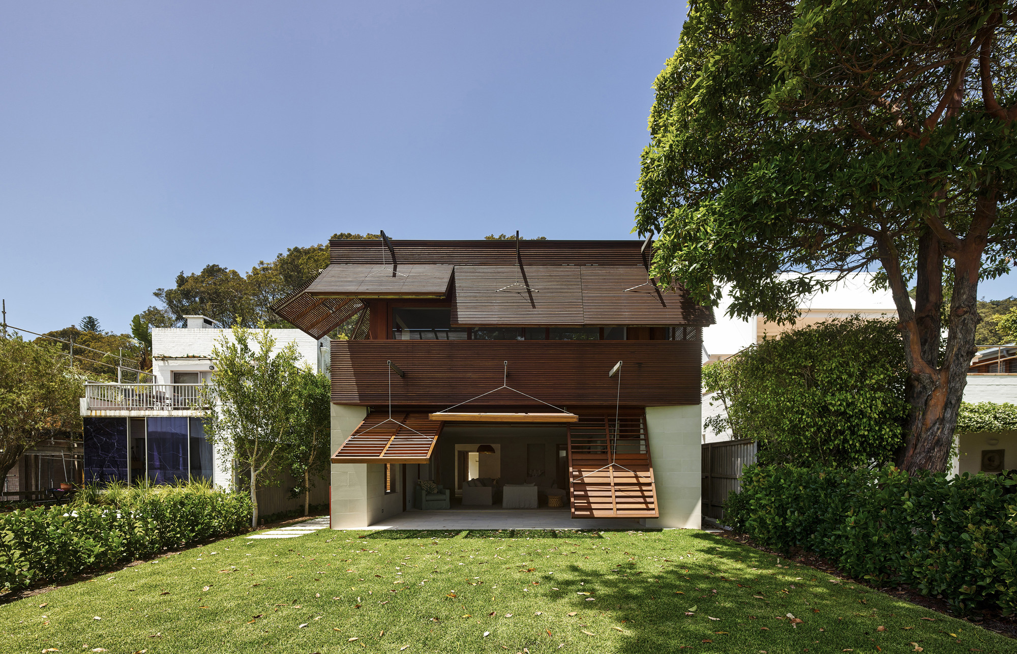 Pittwater House / Andrew Burges Architects, © Peter Bennetts