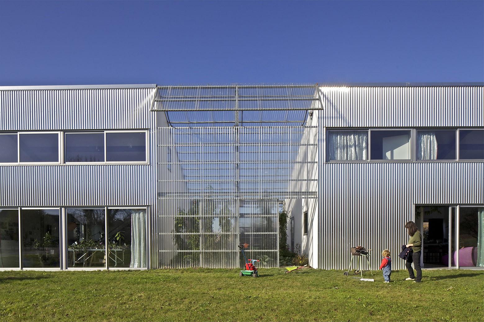 Maison + Agence / Hérard & da Costa, © Philippe Ruault