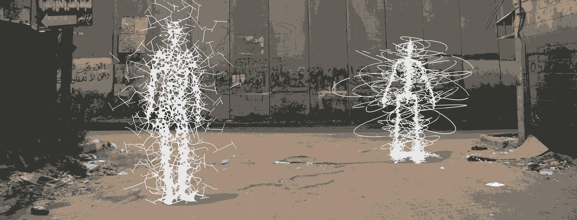 "Palestra ""No Escape from the Body: A política corporal do pano, a parede e da rua"", com Léopold Lambert, no Studio-X Rio, Courtesy of Studio-X Rio"