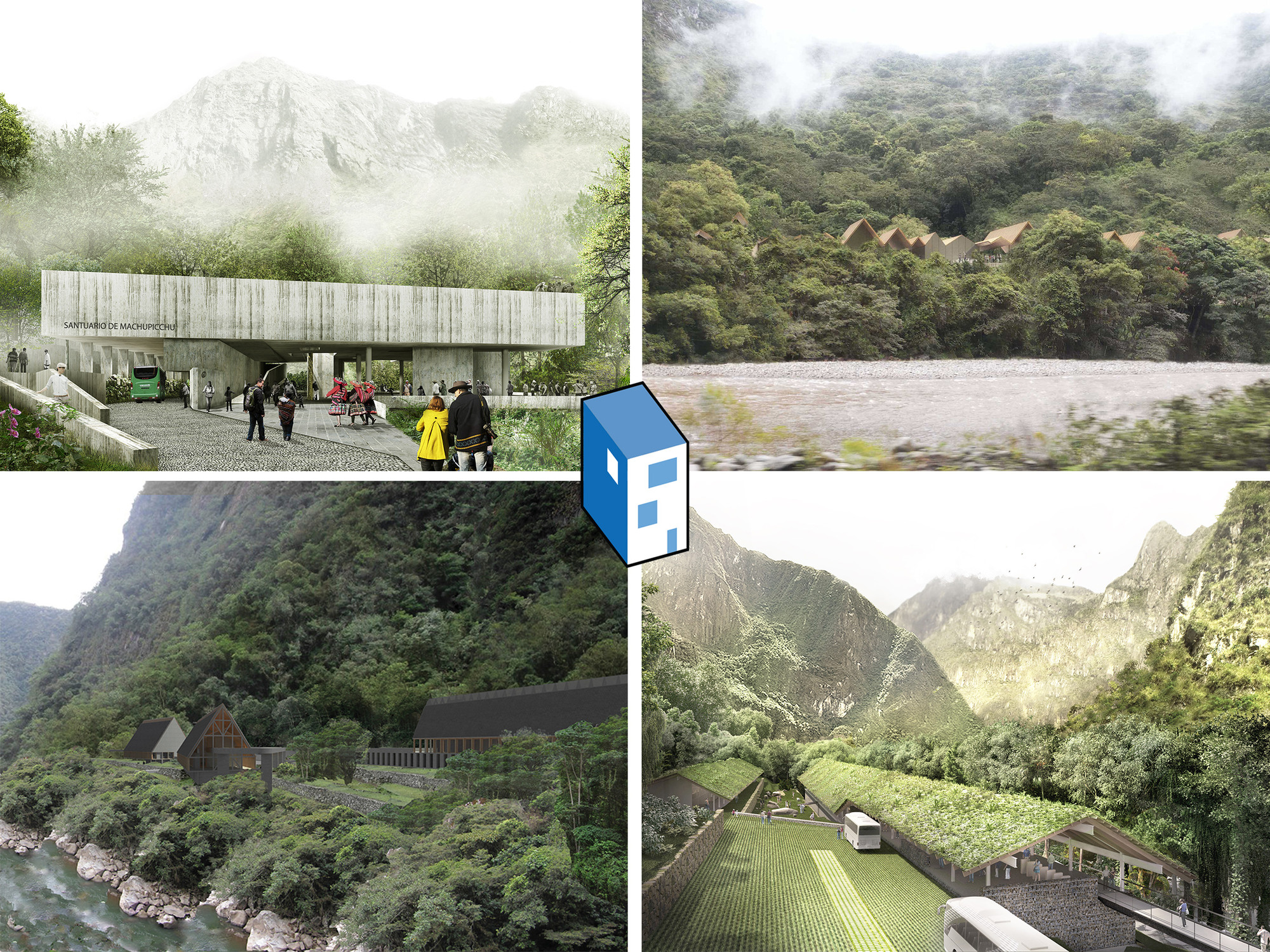 Resultados do concurso de intervenções em Machu Picchu