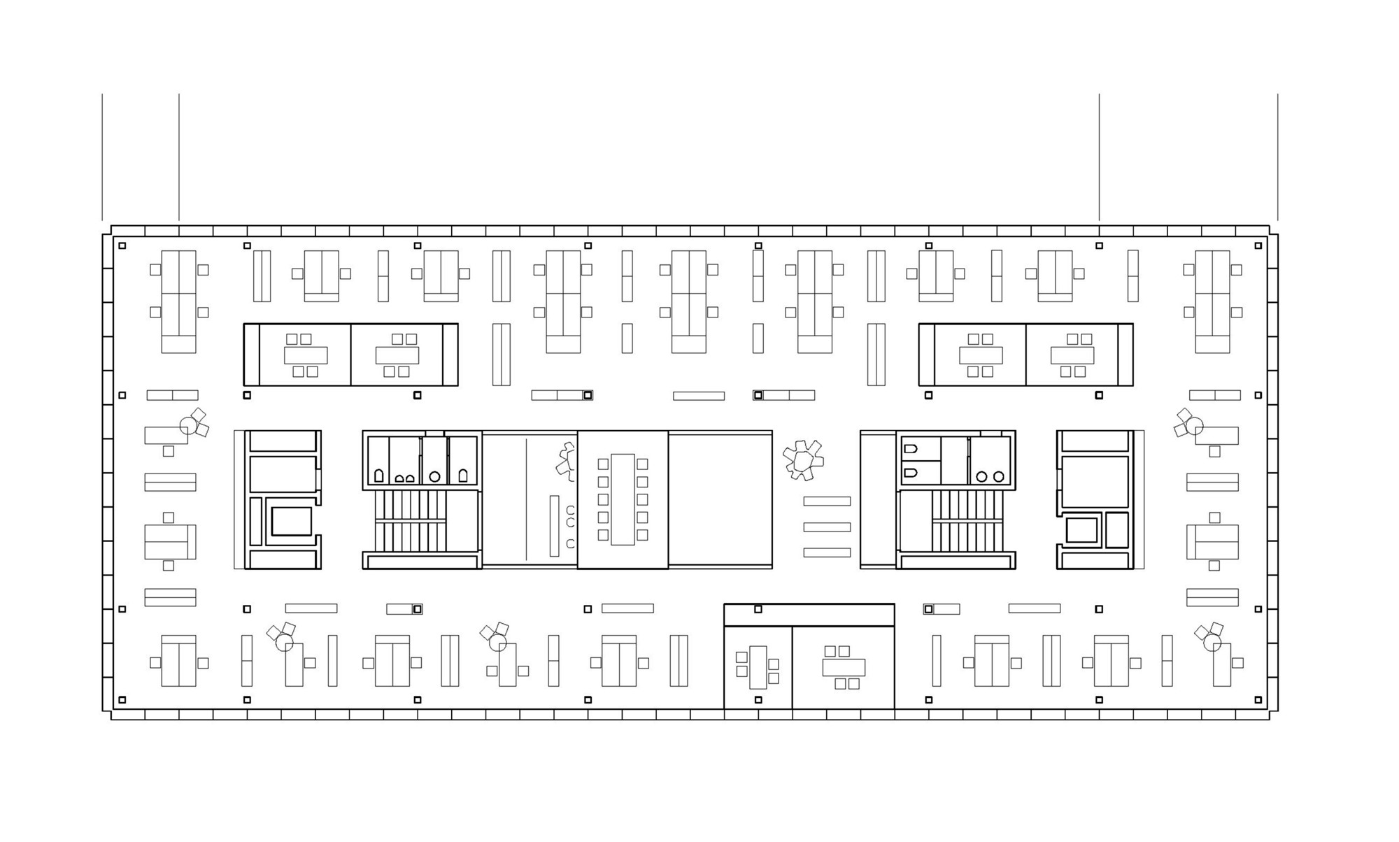 Gallery of office building 200 nissen wentzlaff for Architects office design plans