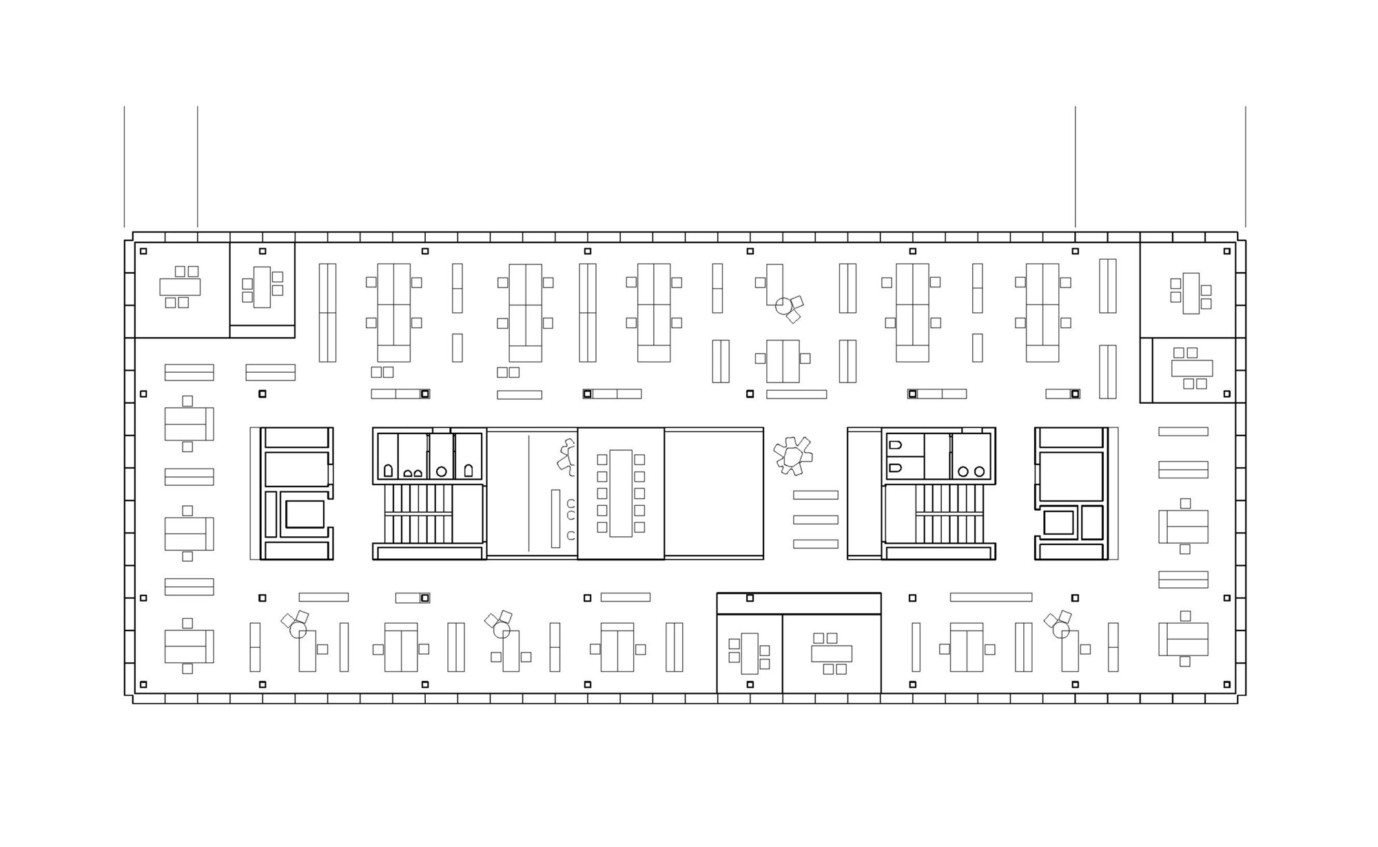Gallery of office building 200 nissen wentzlaff for Design an office space layout online