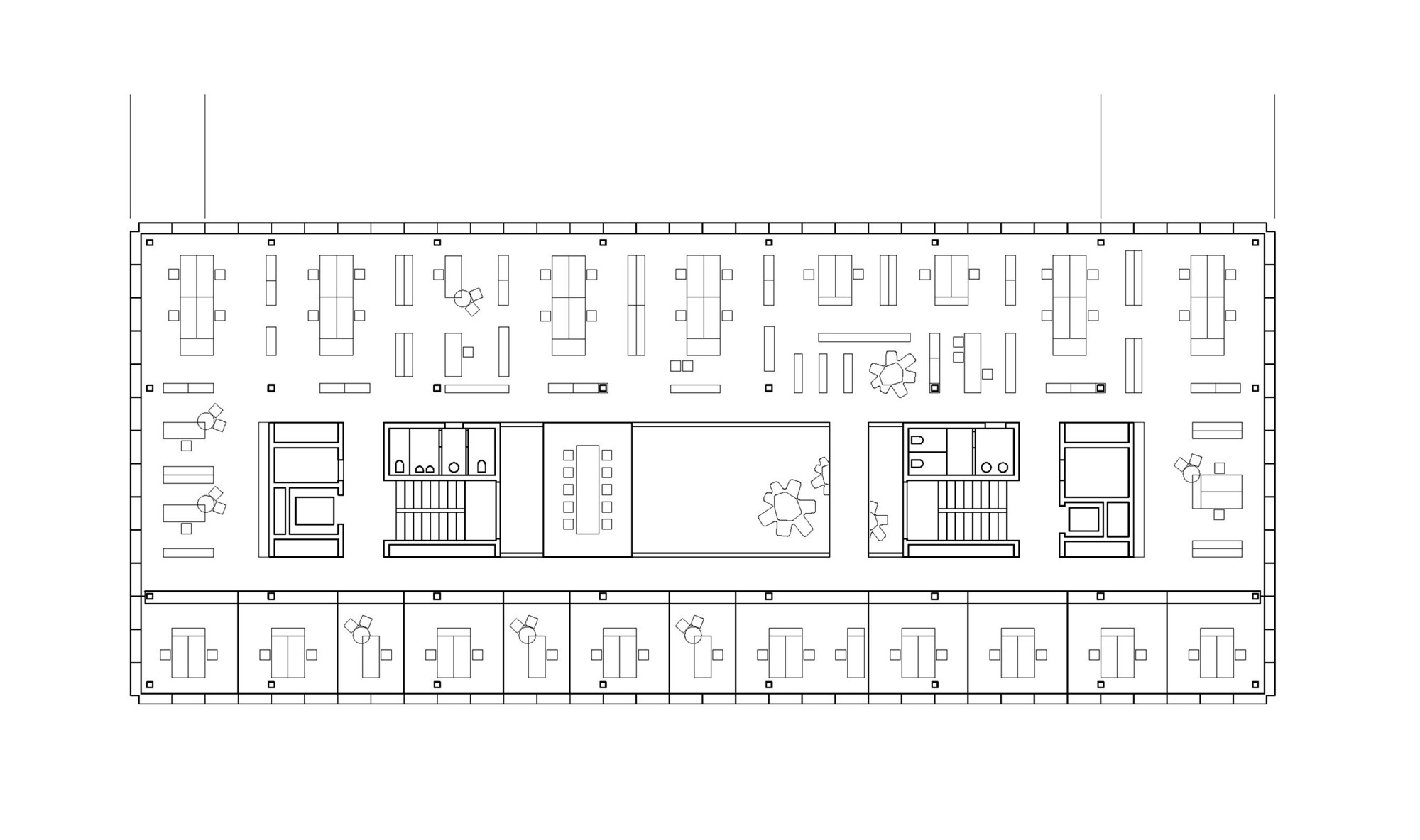 Gallery of office building 200 nissen wentzlaff for Two story office building plans