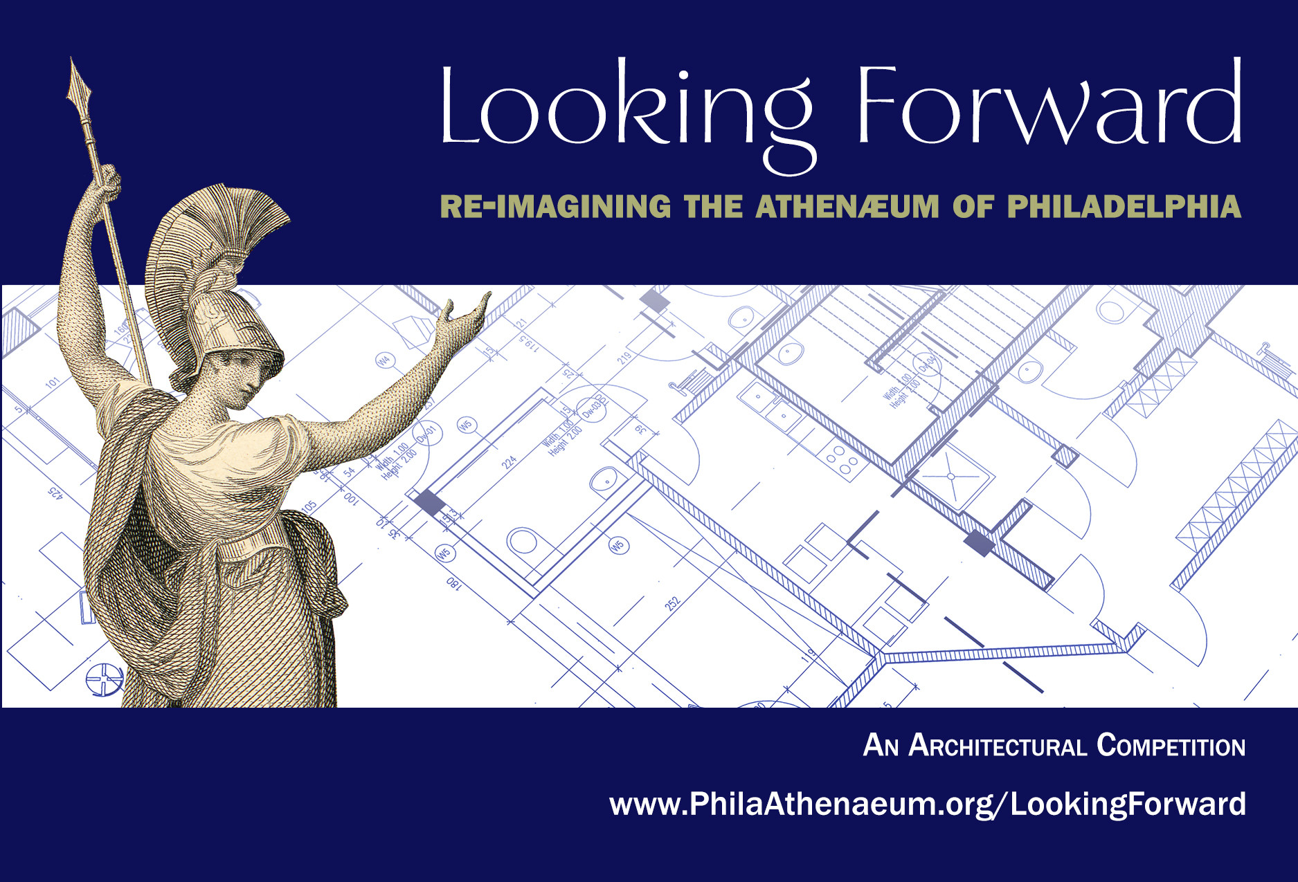 Competition: Re-Imagining The Athenaeum of Philadelphia