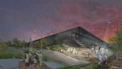 Primer Lugar en concurso de anteproyectos Parque Deportivo Villa Alemana / Chile