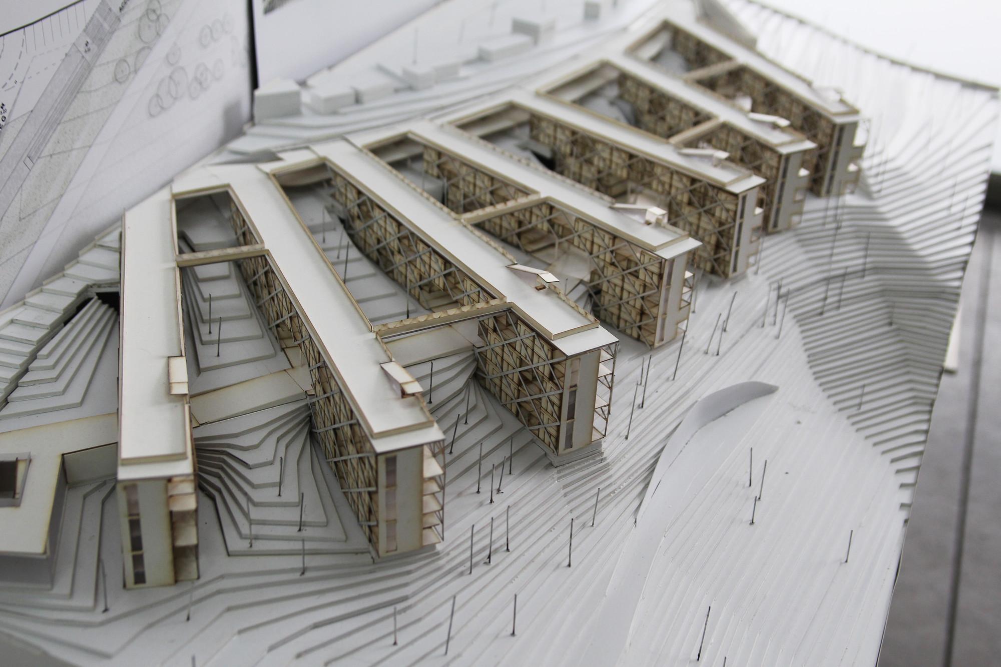 Segundo lugar xviii concurso cap 2014 vivienda social de for Vivienda arquitectura