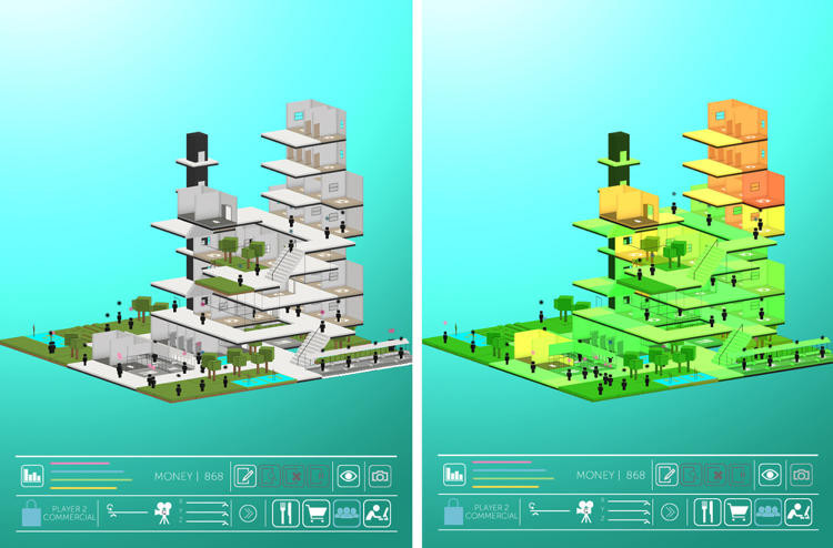 Block envisioning future cities in a video game archdaily courtesy of block ccuart Choice Image