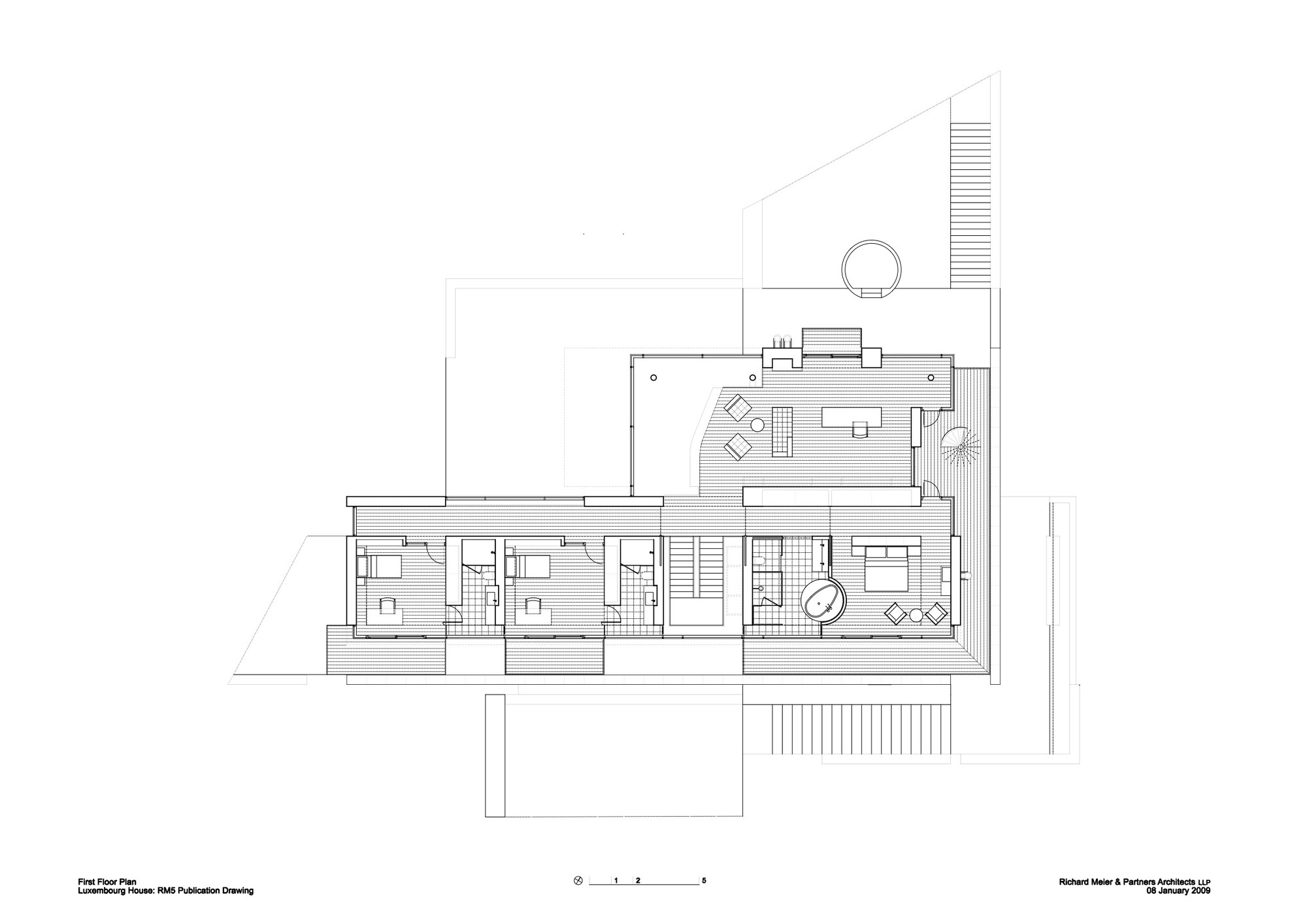 Smith House Piante : Gallery of luxembourg house richard meier partners