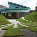 David Page, Page\Page Architects - Maggie's Highlands, 2005; Landscape - Charles Jencks. Image Courtesy of Carnegie Museum of Art
