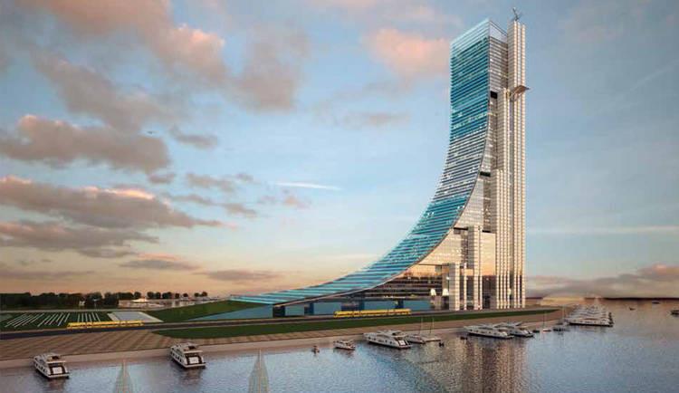 Argentina: anuncian construcción del rascacielos más alto de Latinoamérica, Propuesta ganadora. Image © Fan Page de Cristina Fernández de Kirchner