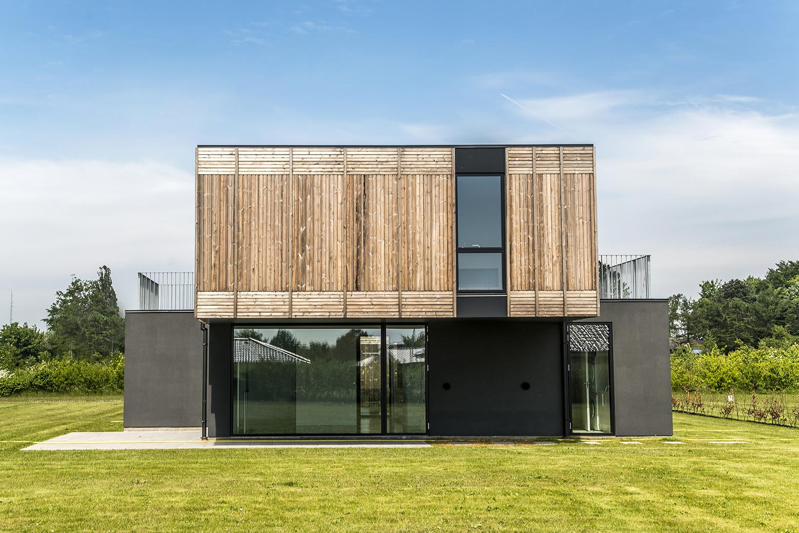 Adaptable House / Henning Larsen Architects + GXN, © Jesper Ray