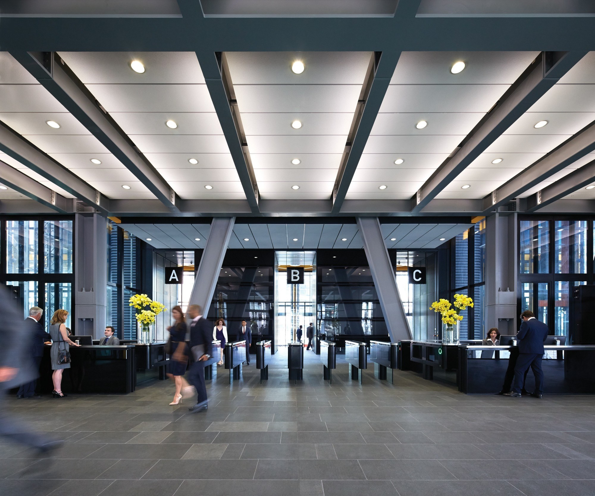 Office Foyer Meaning : Gallery of the leadenhall building rogers stirk harbour