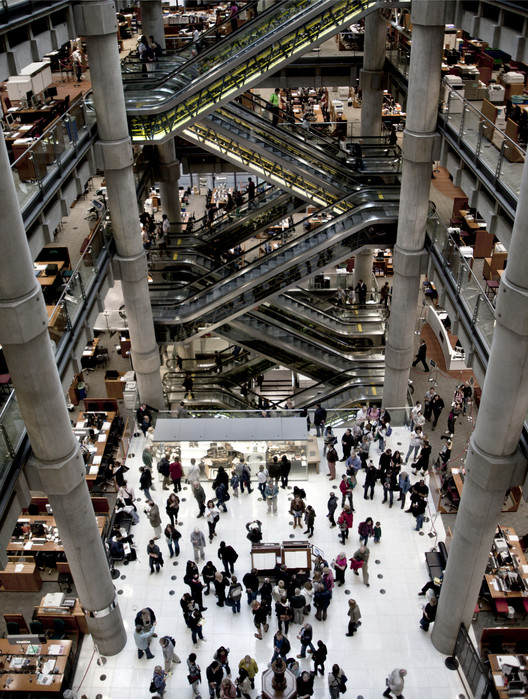 A Hidden London Will Be Revealed For Open House 2014, Lloyds of London / RSHP. Image Courtesy of Open House London