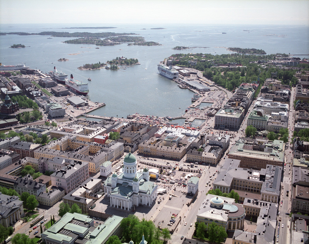 Artistas procuram alternativas para o Guggenheim de Helsinki , South Harbor. Imagem © City of Helsinki