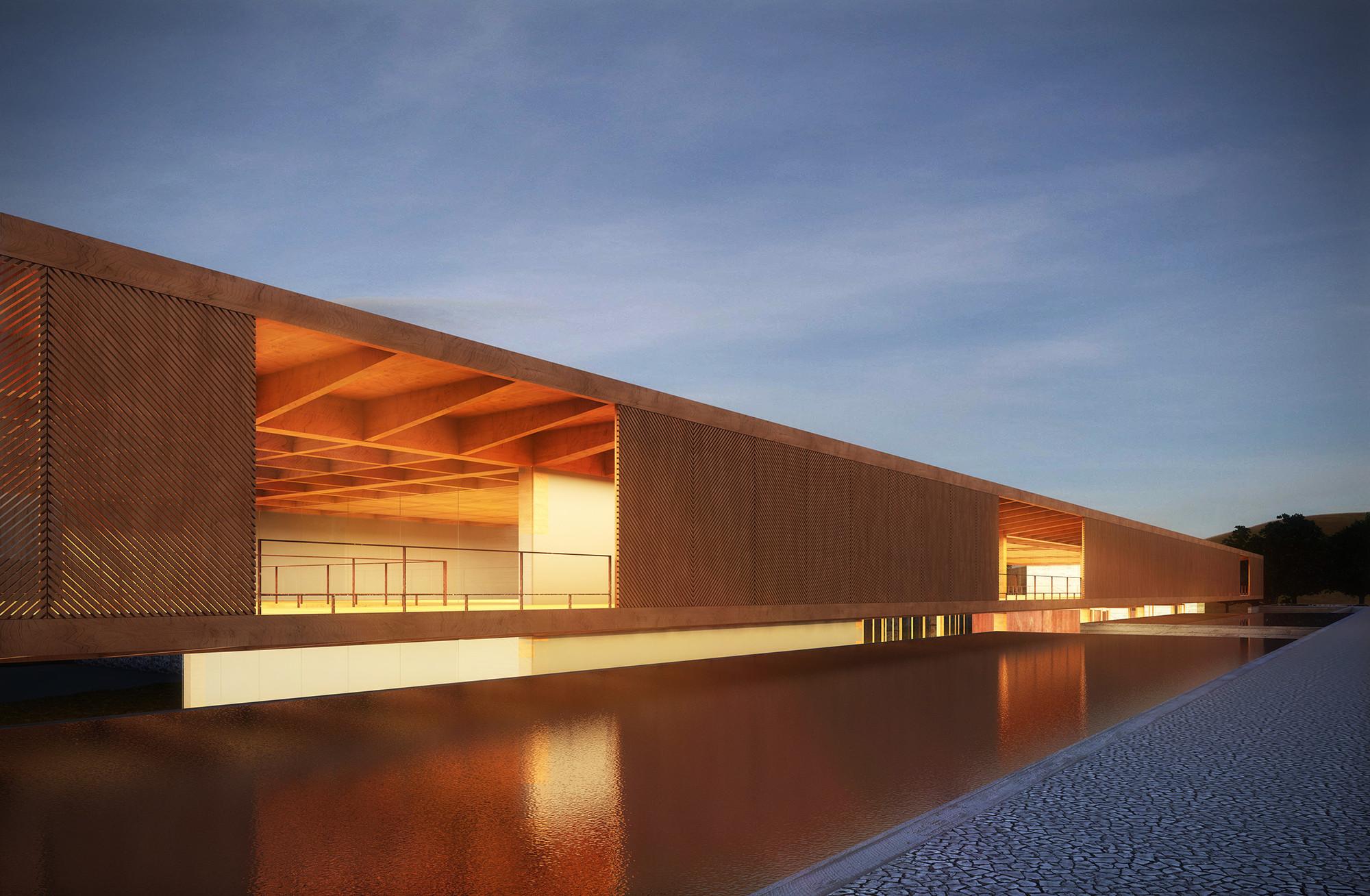Menção Honrosa no Concurso para o Centro Cultural de Eventos e Exposições em Nova Friburgo / Mira arquitetos + João Rangel, Courtesy of Cortesia da equipe do projeto