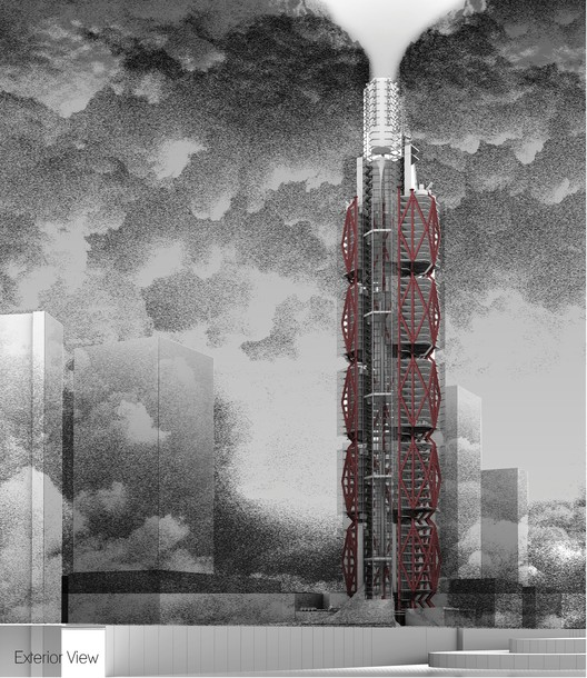 CTBUH Announces Five Finalists in its Student Competition, © Alex Balchin Courtesy of CTBUH