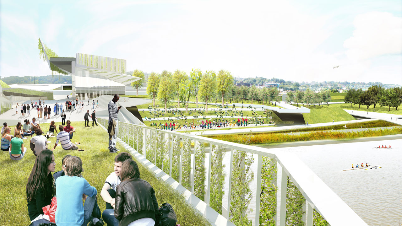 Gallery of 4 visions released for d c s first elevated for Landscape design competition