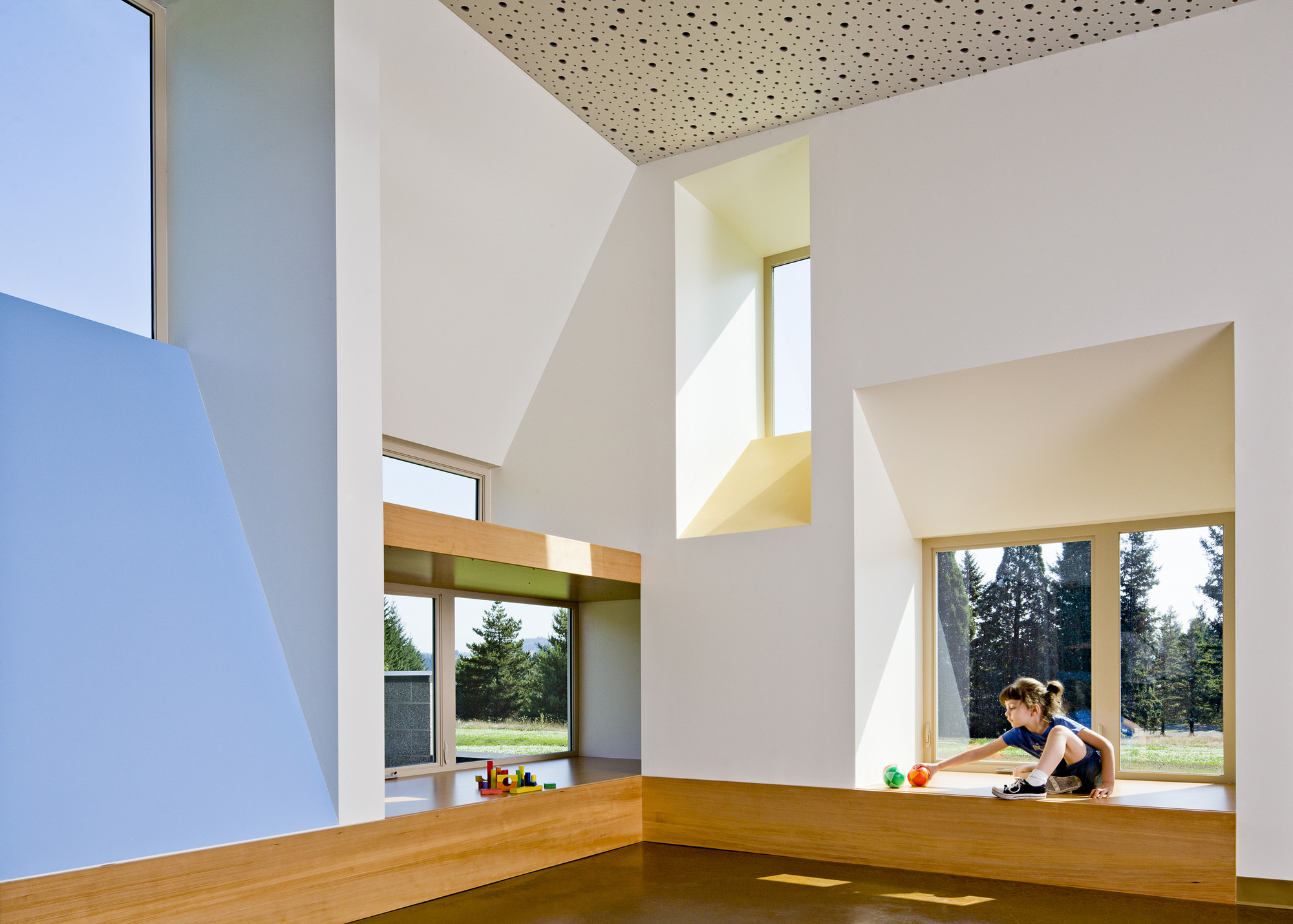 Mt. Hood Community College Early Childhood Center / Mahlum, © Lincoln Barbour