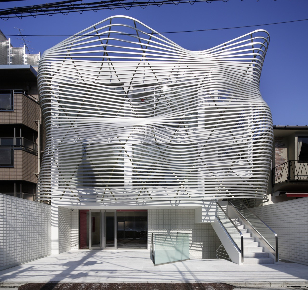 Edifício Dear Jingumae / amano design office, © Nacasa & Partners Inc.