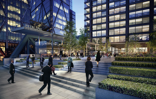© Foster + Partners with Brookfield