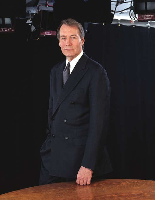National Building Museum Honors Charlie Rose with Vincent Scully Prize, Courtesy of Charlie Rose