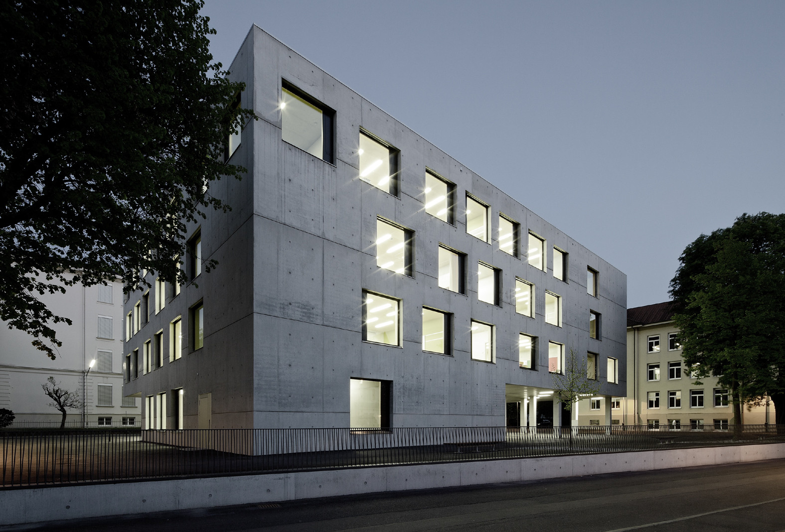 Special Education Centre in Dornbirn / Marte Marte Architekten, Courtesy of Marte Marte Architekten