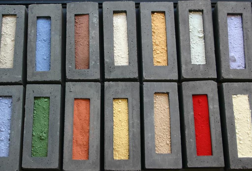 Materiales: Hormigones Pigmentados