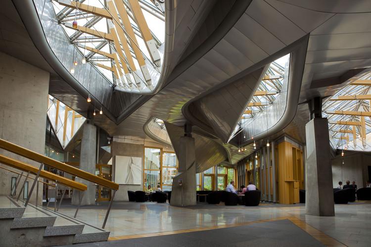 Ad Classics Scottish Parliament Building Enric Miralles