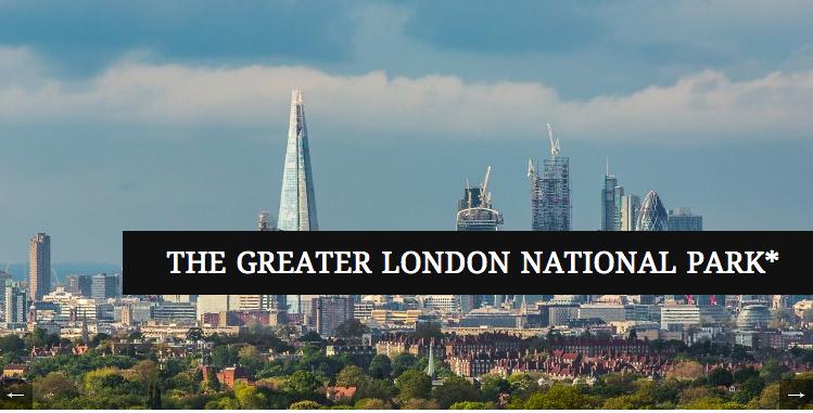 Campanha pretende transformar Londres na primeira cidade Parque Nacional, © Greater London National Park