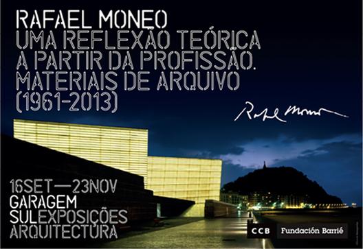Exposição e conferência de Rafael Moneo no CCB em Lisboa, Cortesia de CCB