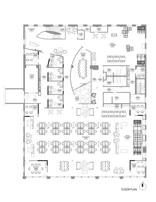 Sprint accelerator rmta archdaily for Prototype house plan