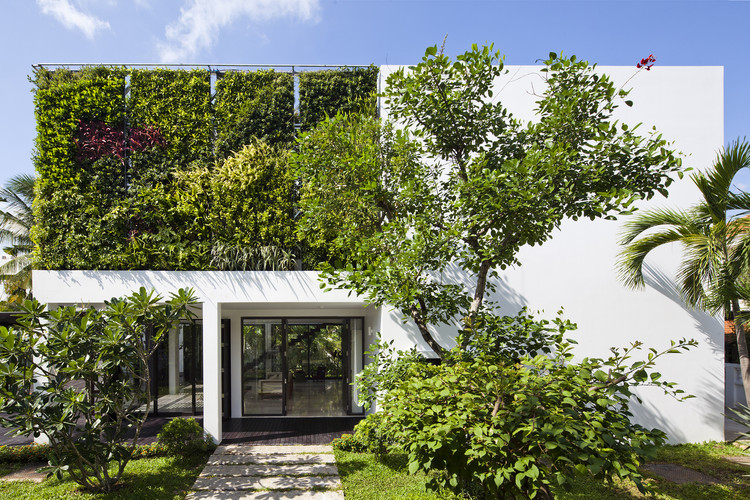 Casa en Thao Dien / MM++ architects, © Hiroyuki OKI