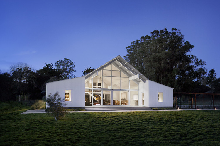 Rancho Hupomone / Turnbull Griffin Haesloop Architects, © David Wakely
